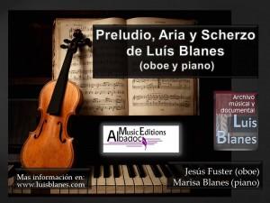 Preludio Aria y Scherzo
